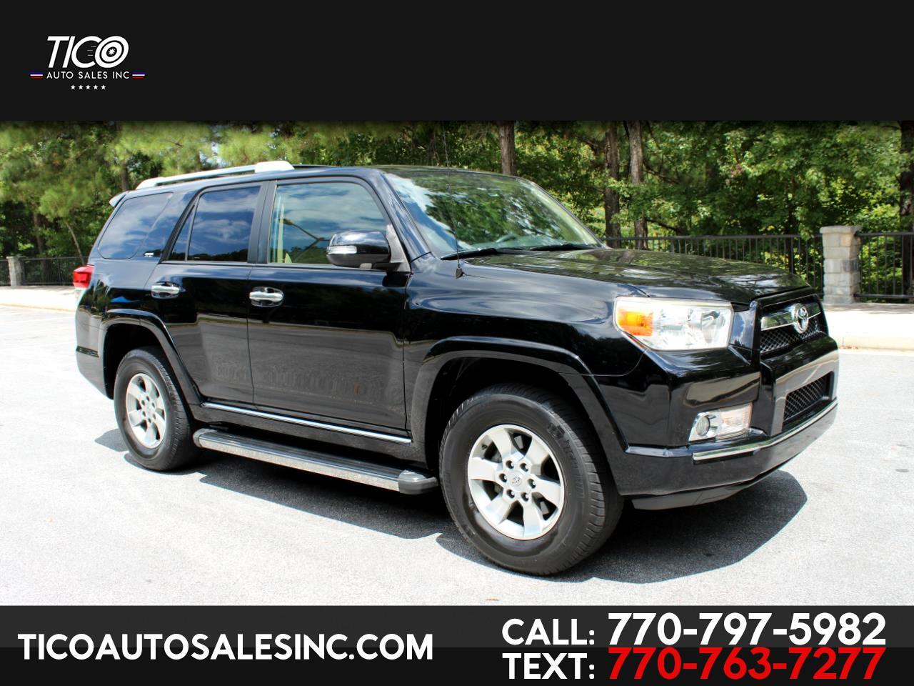 Toyota 4Runner 4WD 4dr V6 Limited (Natl) 2011