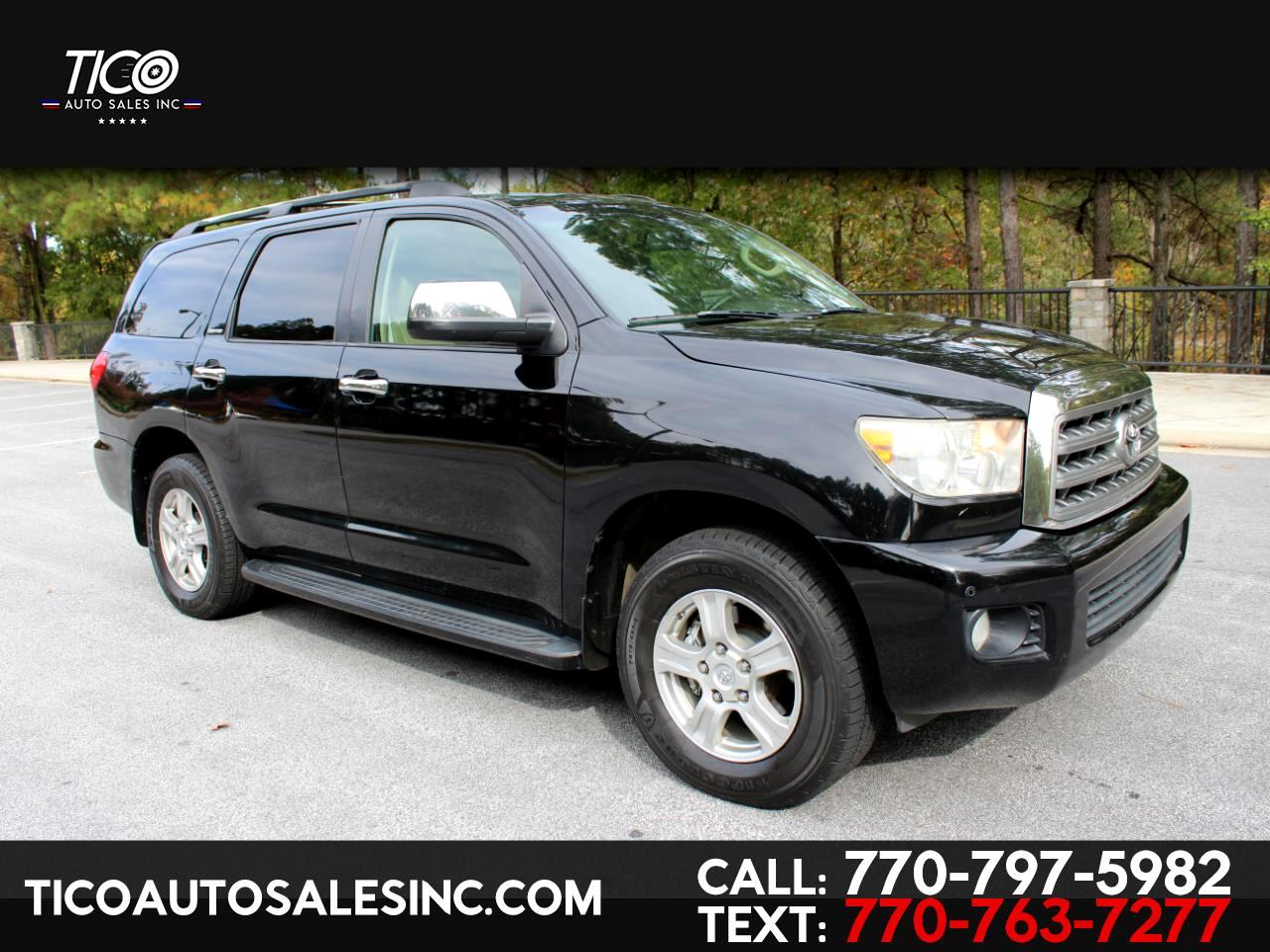 Toyota Sequoia RWD 4dr LV8 6-Spd AT Ltd (Natl) 2008