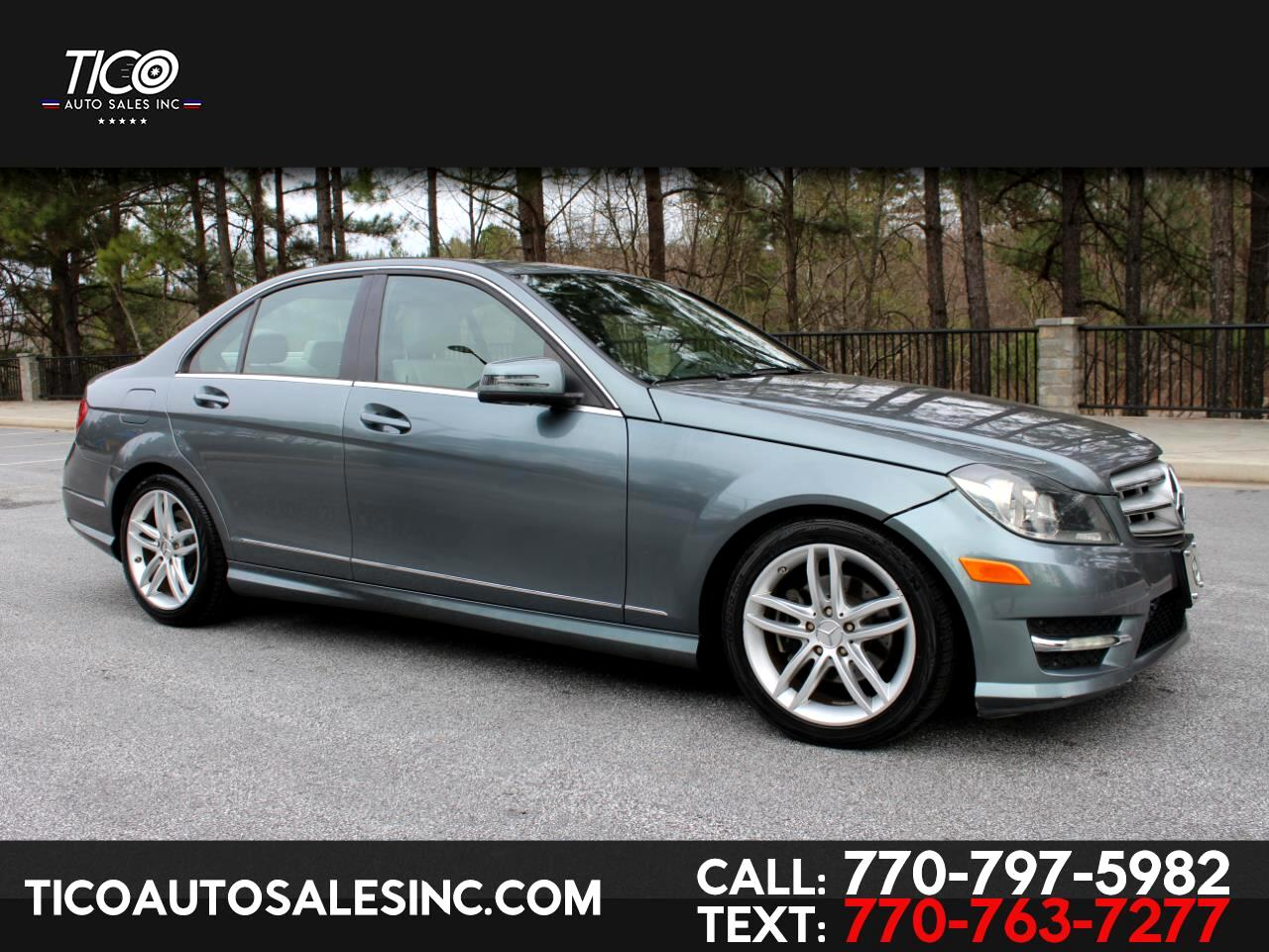 Mercedes-Benz C-Class 4dr Sdn C 300 Luxury 4MATIC 2012