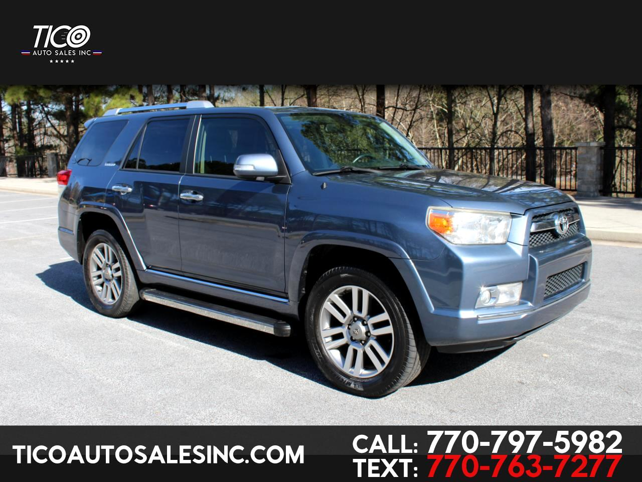 Toyota 4Runner 4WD 4dr V6 Limited (Natl) 2012