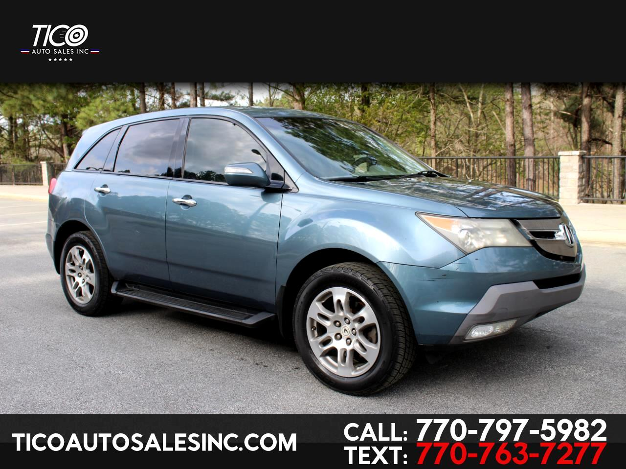 Acura MDX 4WD 4dr 2007