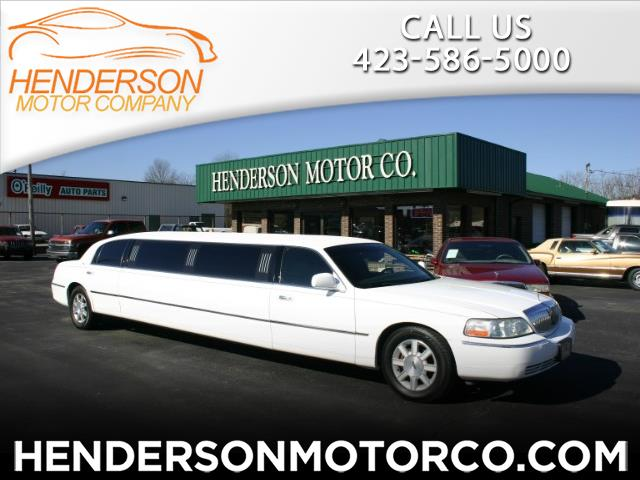 Lincoln Town Car Executive Limo 2008