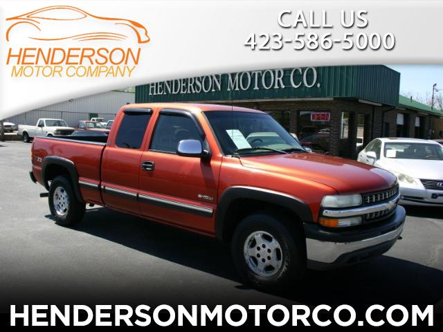 2001 Chevrolet Silverado 1500 LS Ext. Cab Short Bed 4WD