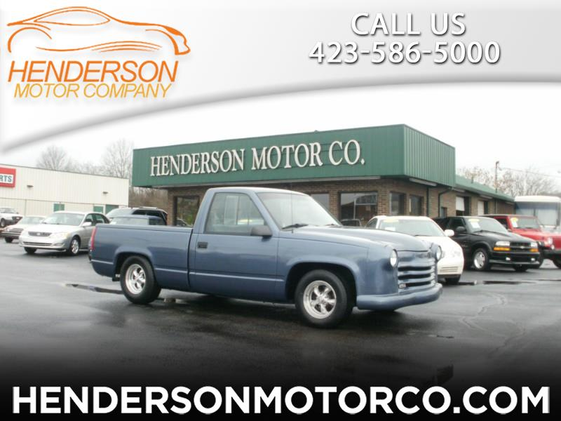 Chevrolet C/K 1500 Reg. Cab 6.5-ft. bed 2WD 1992