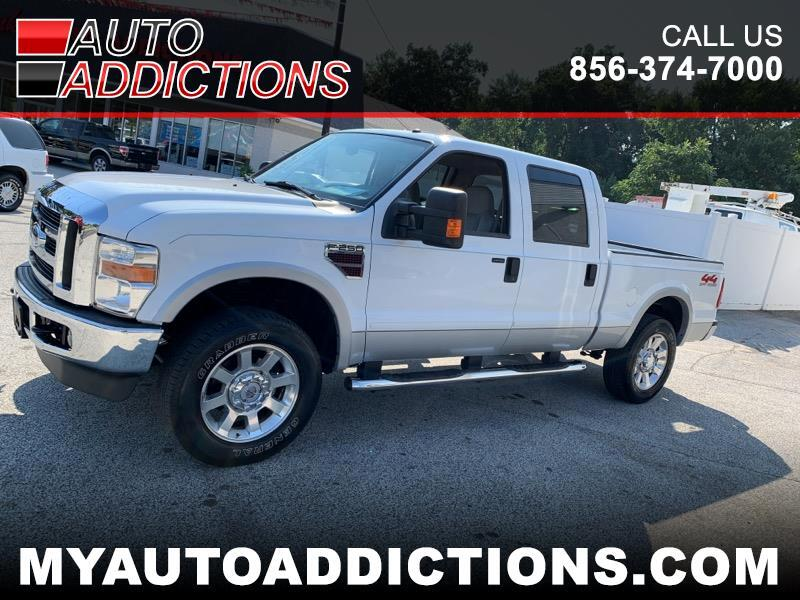 Ford F-250 SD Lariat Crew Cab Long Bed 4WD 2008