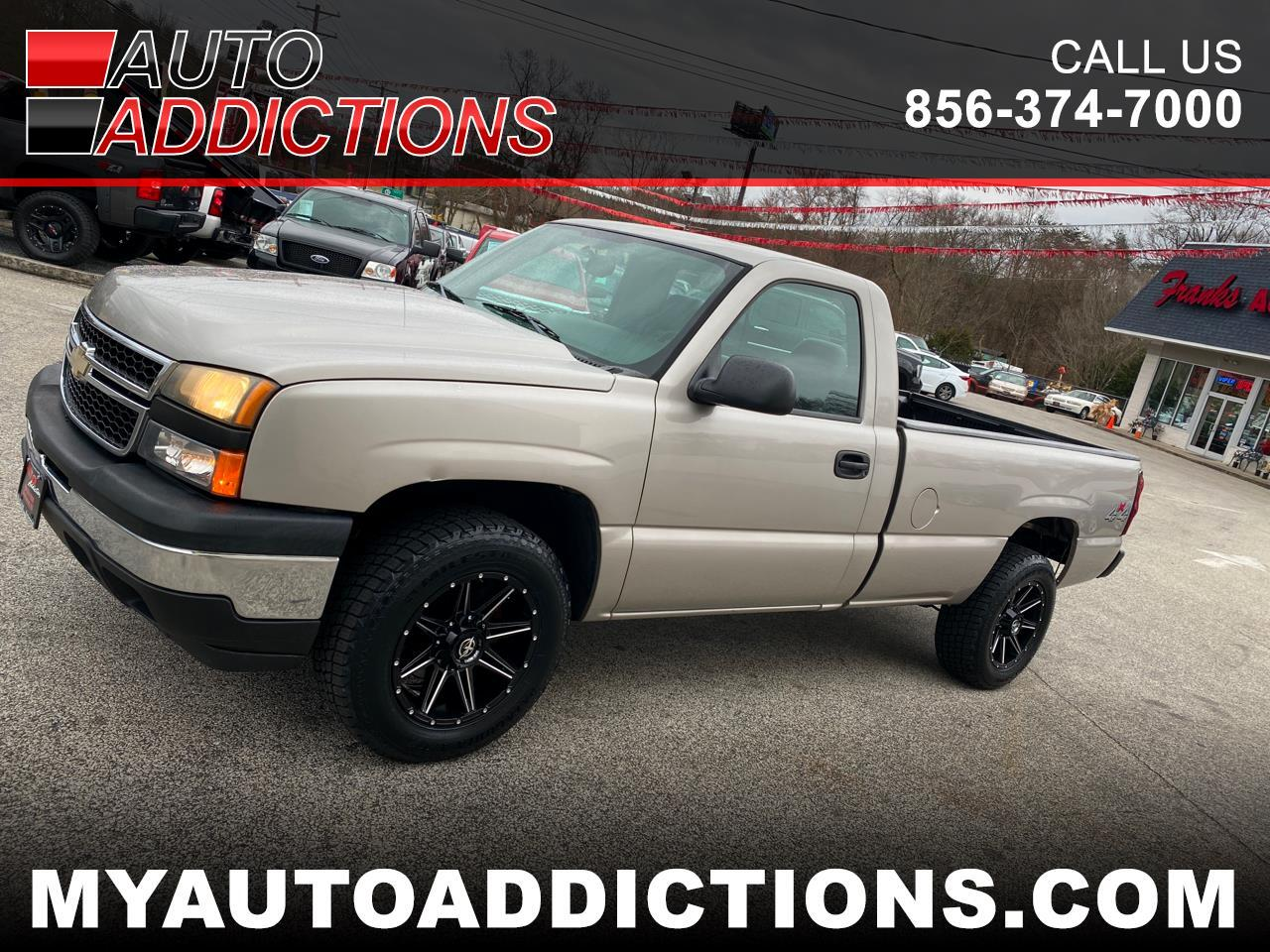 Chevrolet Silverado 1500 1LT Regular Cab Long Box 4WD 2006