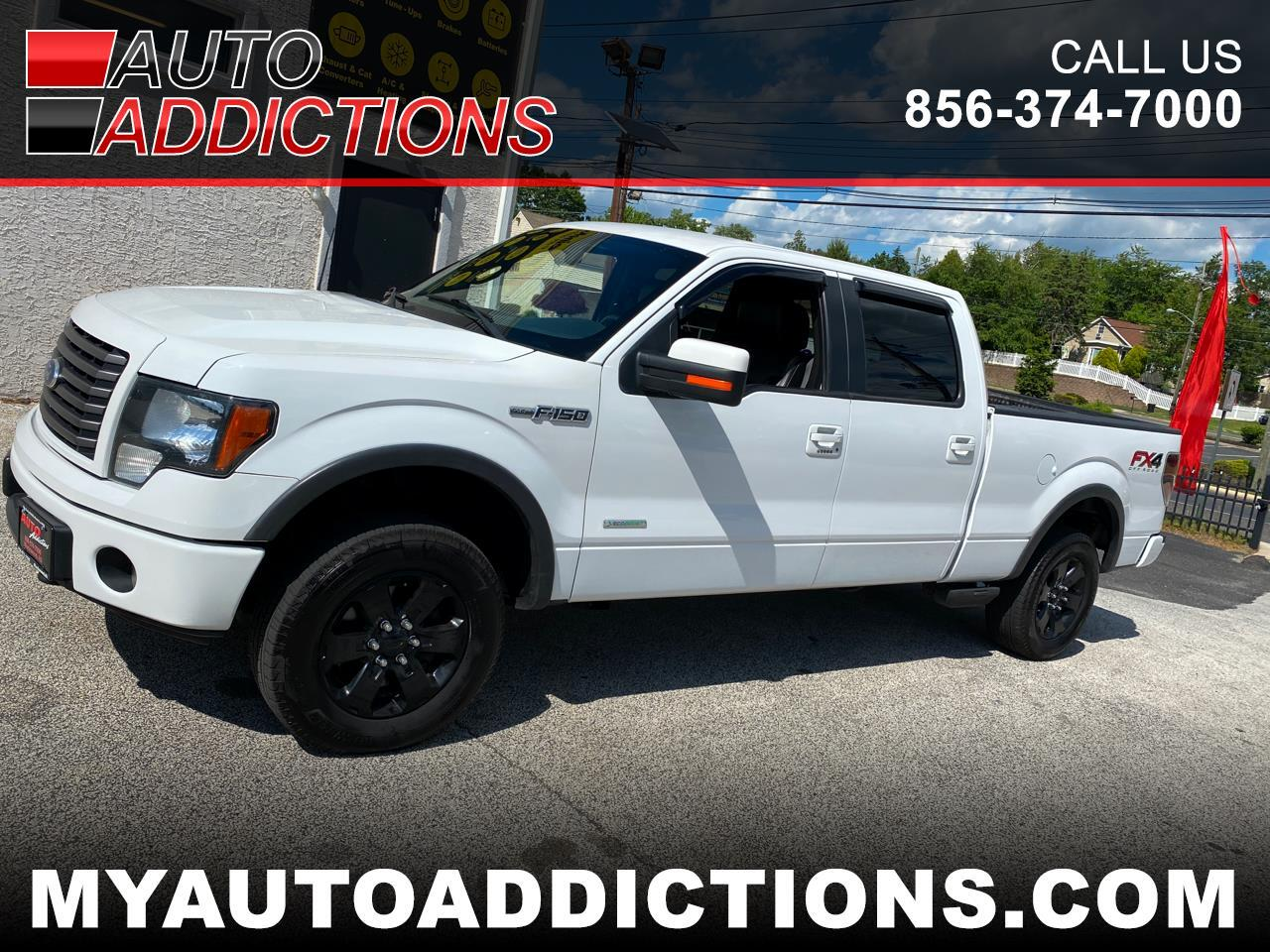 "Ford F-150 4WD SuperCrew 157"" XLT w/HD Payload Pkg 2012"