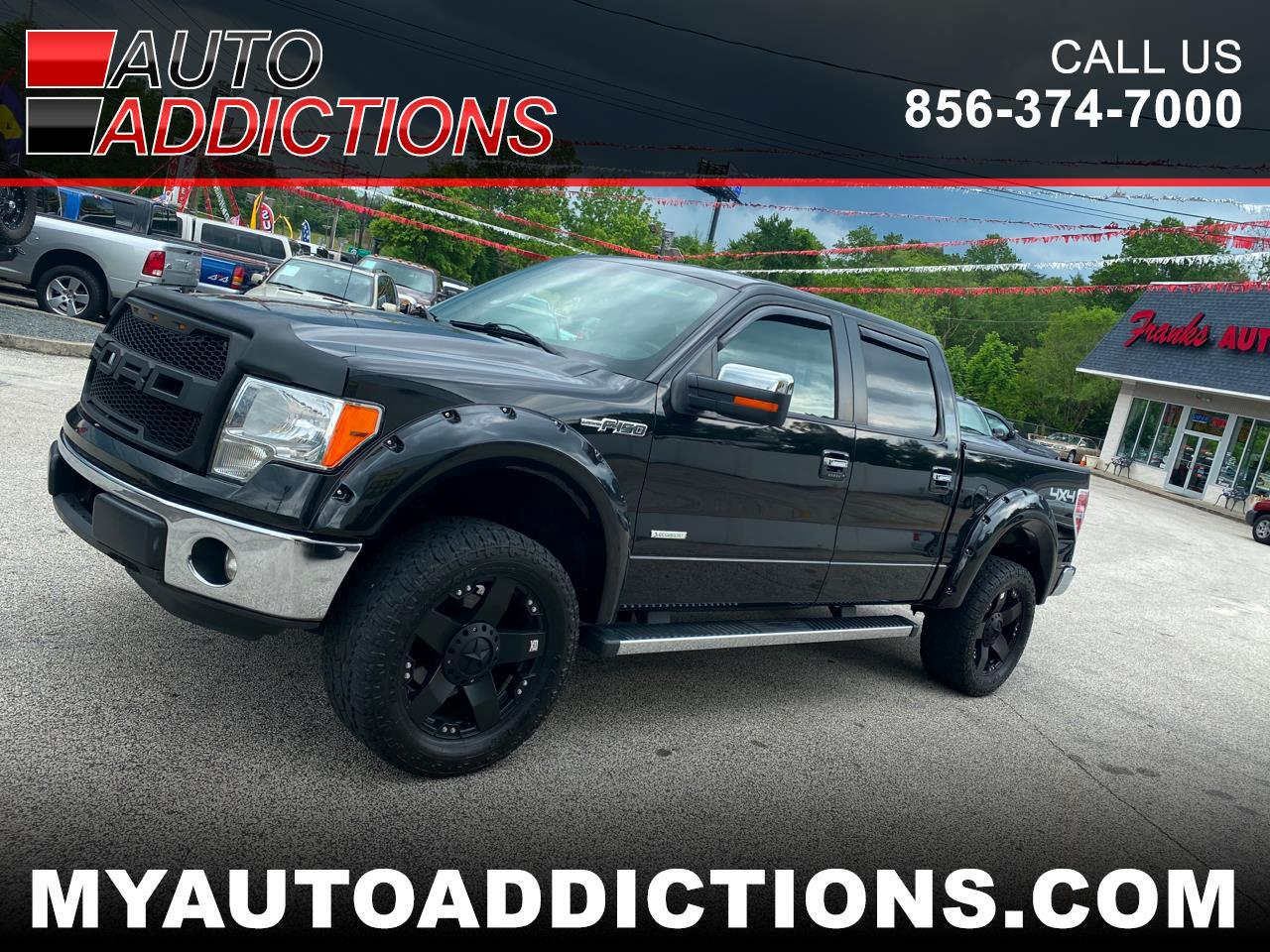 "Ford F-150 4WD SuperCrew 150"" Lariat 2013"