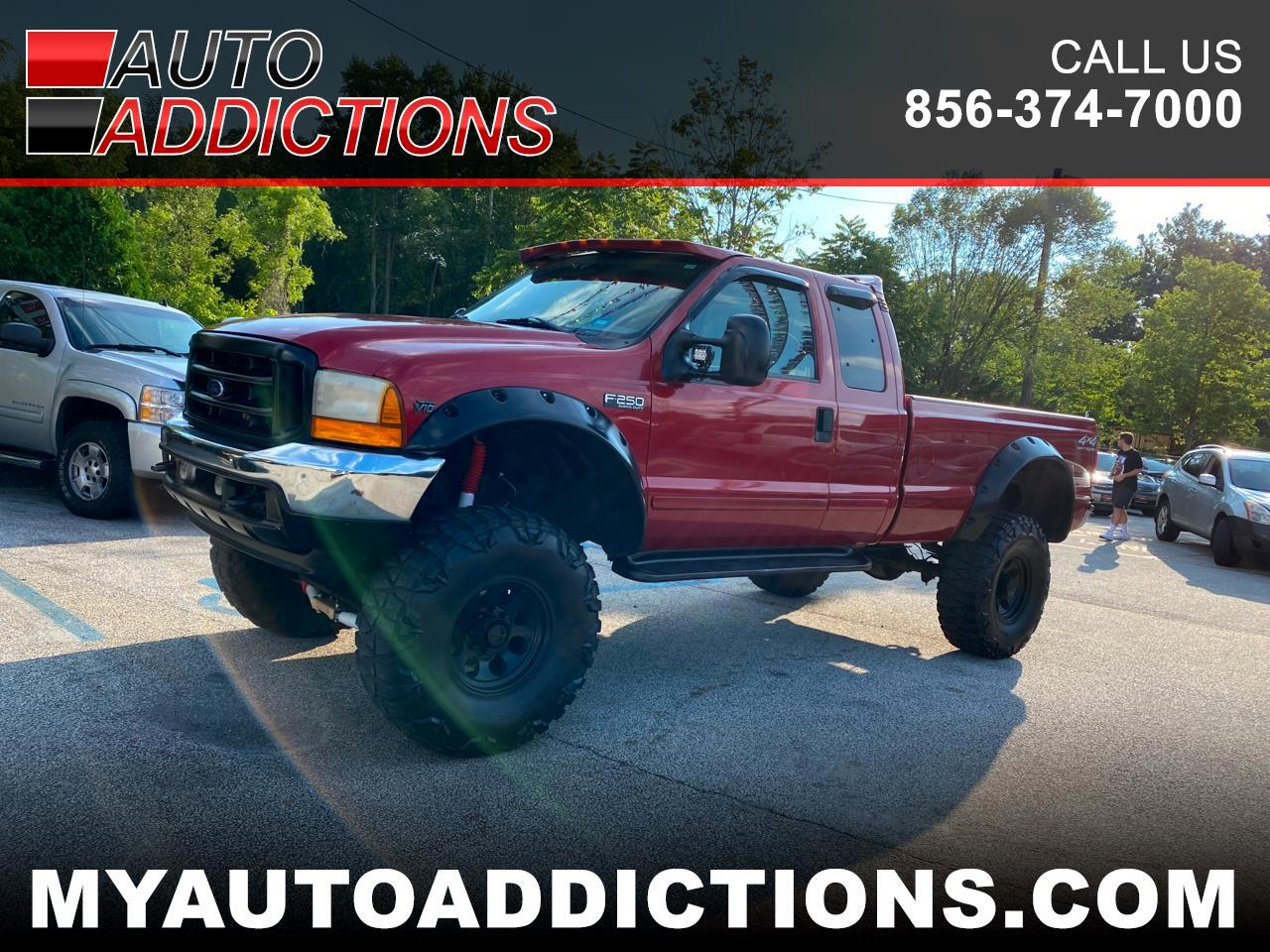 Ford F-250 SD XLT SuperCab 4WD 2001