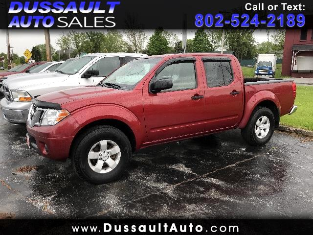 2012 Nissan Frontier 4WD Crew Cab SWB Manual SV