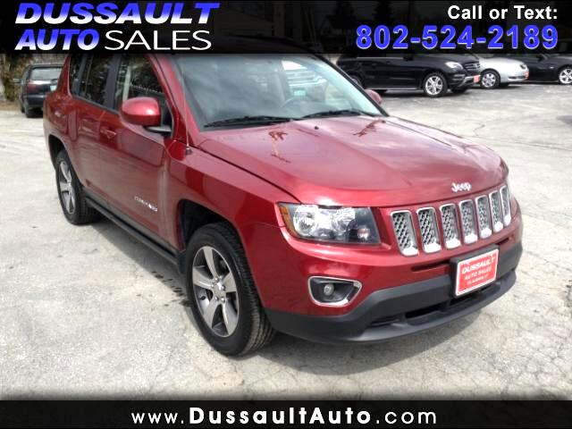 2016 Jeep Compass 4WD 4dr High Altitude Edition