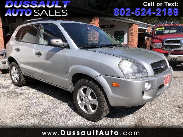 2007 Hyundai Tucson 4WD 4dr Manual GLS