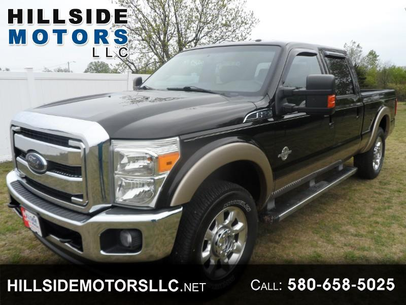 Ford F-250 SD Lariat Crew Cab Short Bed 4WD 2013