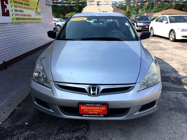 2006 Honda Accord VP Sedan AT