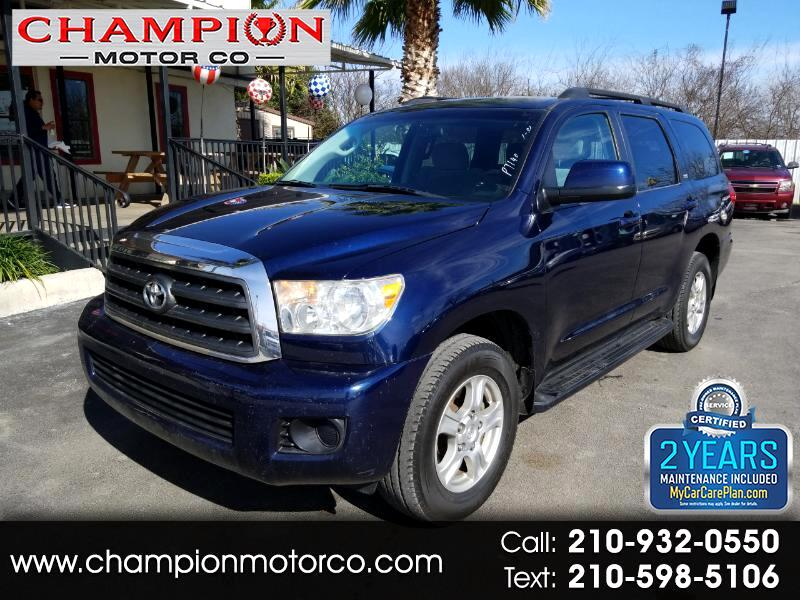 2009 Toyota Sequoia RWD V8 5-Spd AT SR5 (Natl)