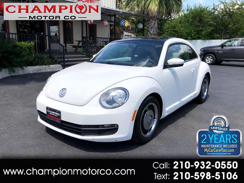 2012 Volkswagen Beetle 2dr Cpe Man 2.5L w/Sun PZEV