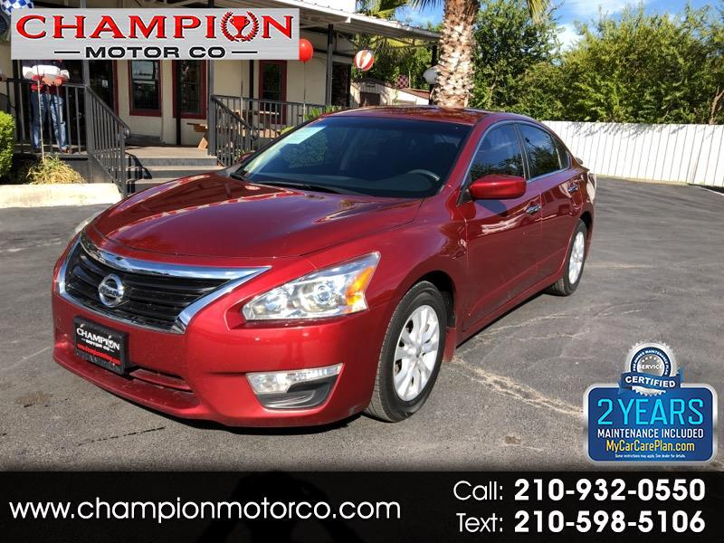 Nissan Altima 4dr Sdn I4 2.5 S 2014
