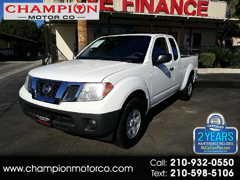 Nissan Frontier 2WD King Cab I4 Manual S 2013