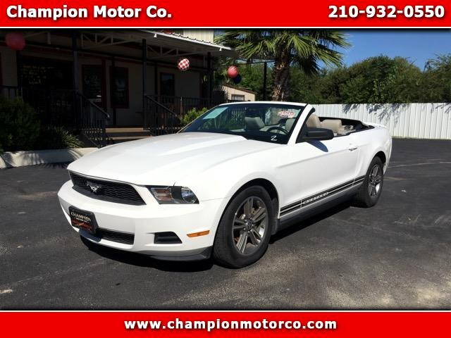 2010 Ford Mustang V6 Convertible