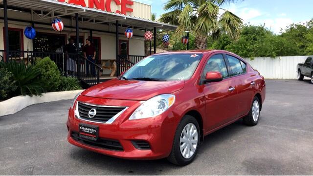 2014 Nissan Versa 4dr Sdn CVT 1.6 SV