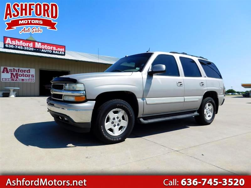 Used 2005 Chevrolet Tahoe 4wd For Sale In Wright City Mo