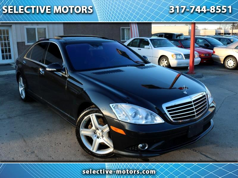 2009 Mercedes-Benz S-Class S550 4MATIC W AMG PACKAGE