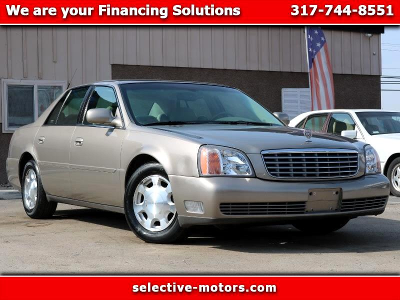 2001 Cadillac DeVille 4dr Sdn DTS