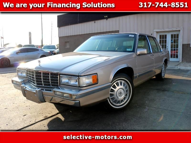 Cadillac DeVille 4dr Sdn 1992