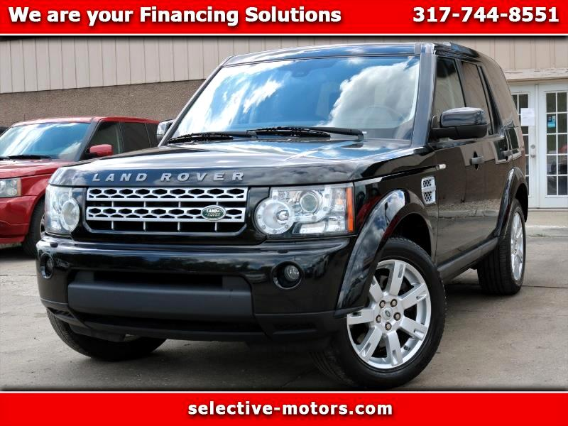 Land Rover LR4 HSE Luxury 2011