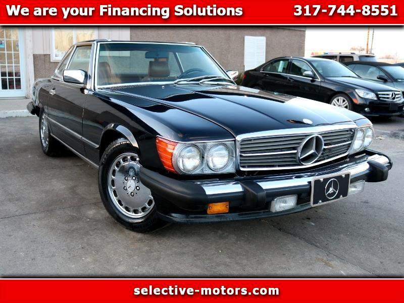 Mercedes-Benz 560  1986