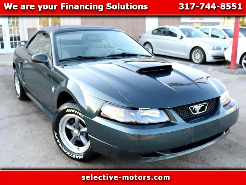 Ford Mustang 2dr Conv Deluxe 1999