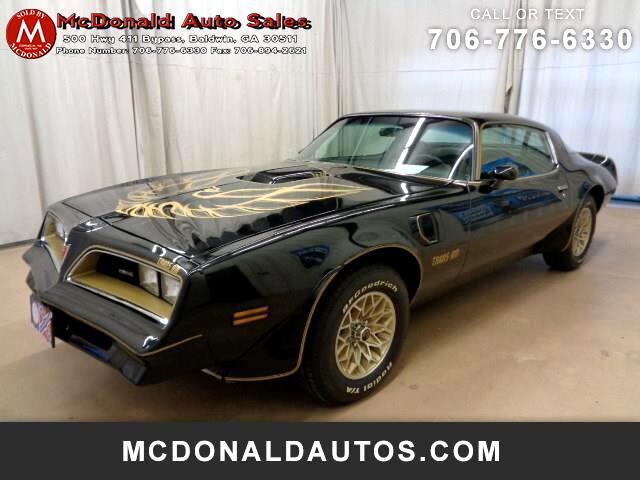 1977 Pontiac Firebird 2dr Cpe Trans Am