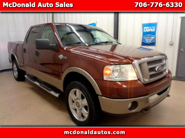 2006 Ford F-150 KING RANCH SUPER CREW 6.5 FT BOX 4WD