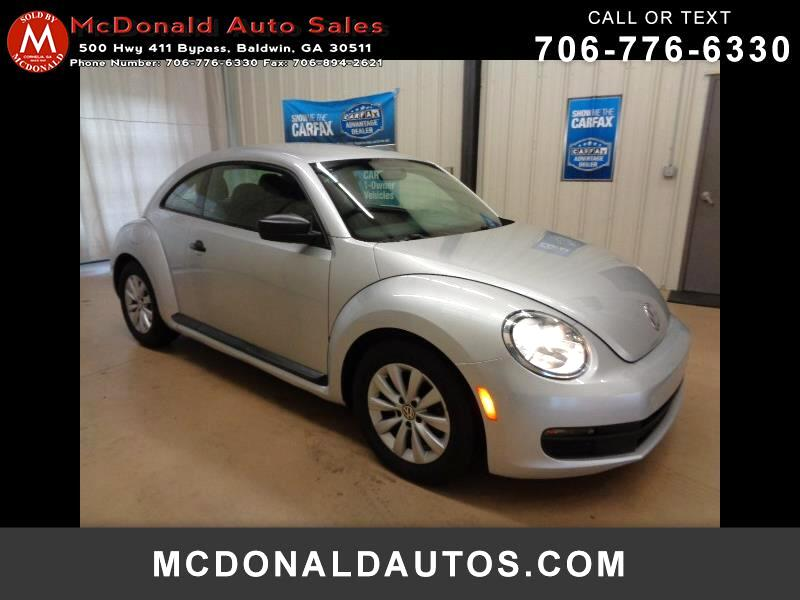 2014 Volkswagen Beetle 2.5L 2DR COUPE