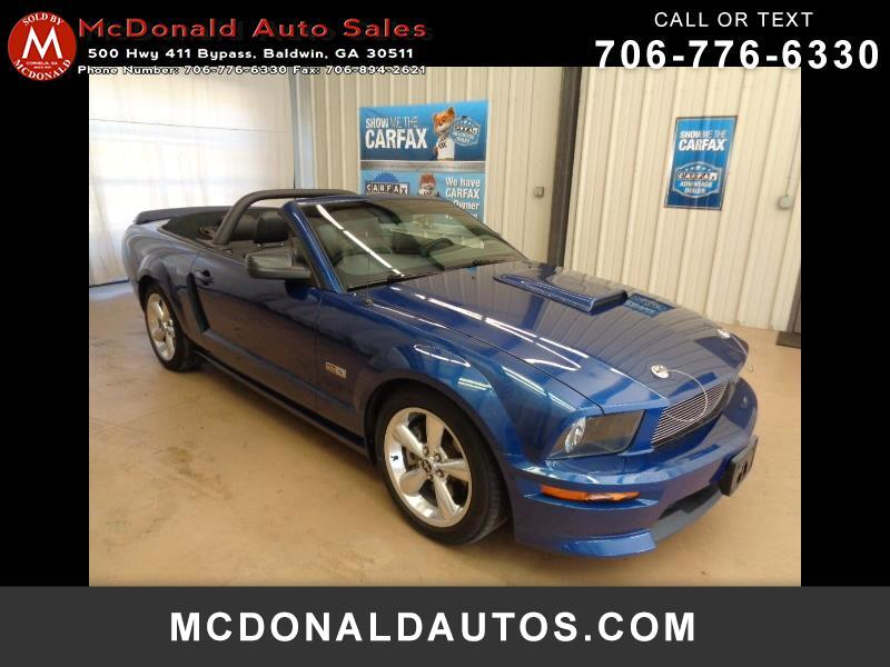2008 Ford Mustang Shelby GT Convertible