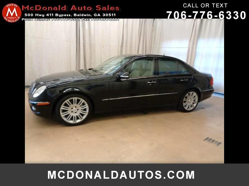 2007 Mercedes-Benz E-Class E350 Sport Sedan