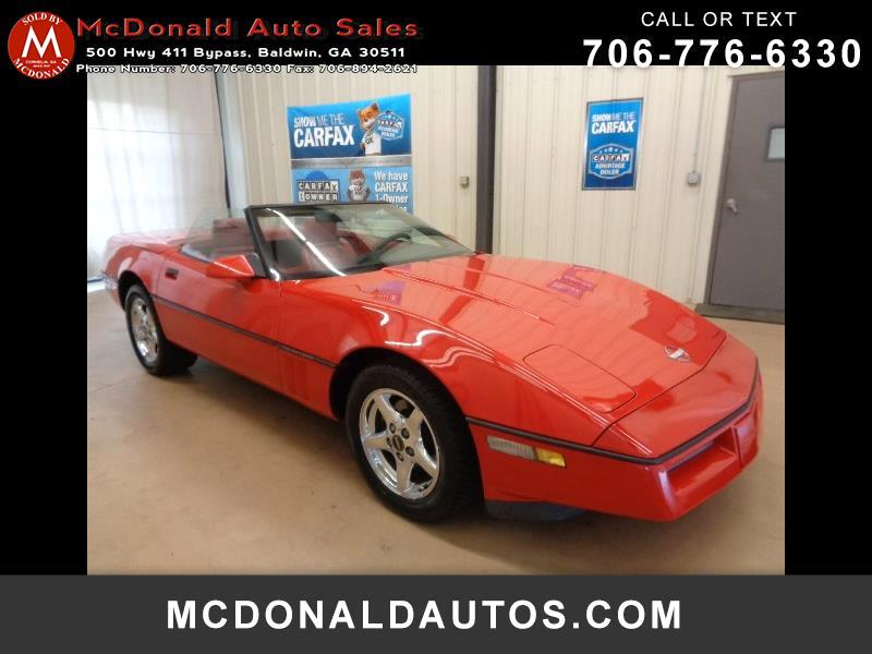 1990 Chevrolet Corvette Convertible