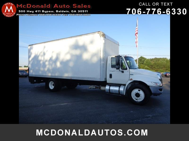 2012 International DuraStar 4300 24 FT BOX TRUCK