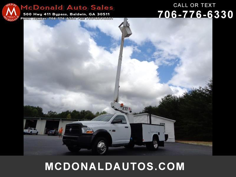 Dodge Ram 5500 Regular Cab 4WD 2012