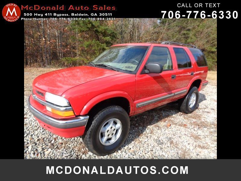 Chevrolet Blazer LT 4-Door 4WD 1999