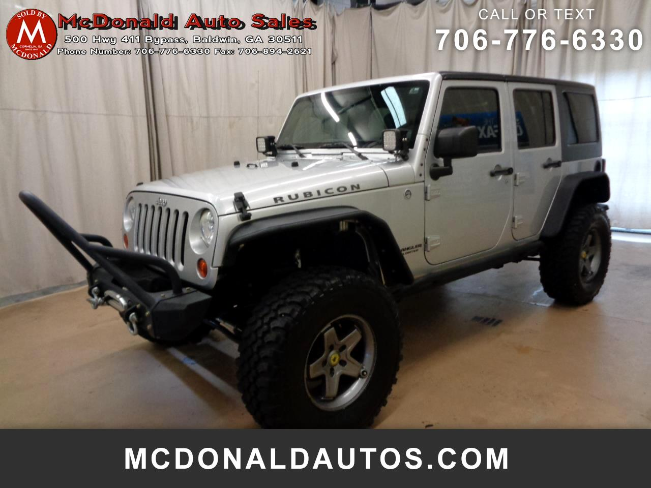 Jeep Wrangler Unlimited Rubicon 4WD 2012