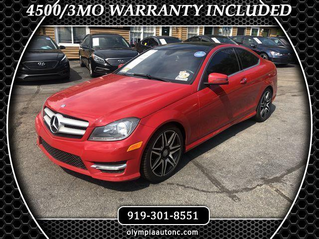 Used 2013 Mercedes Benz C Class In Raleigh Nc Near 27608 Wddgj5hb2df963991 Auto Com