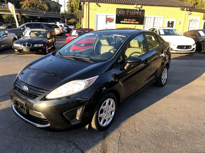 Ford Fiesta 4dr Sdn S 2011