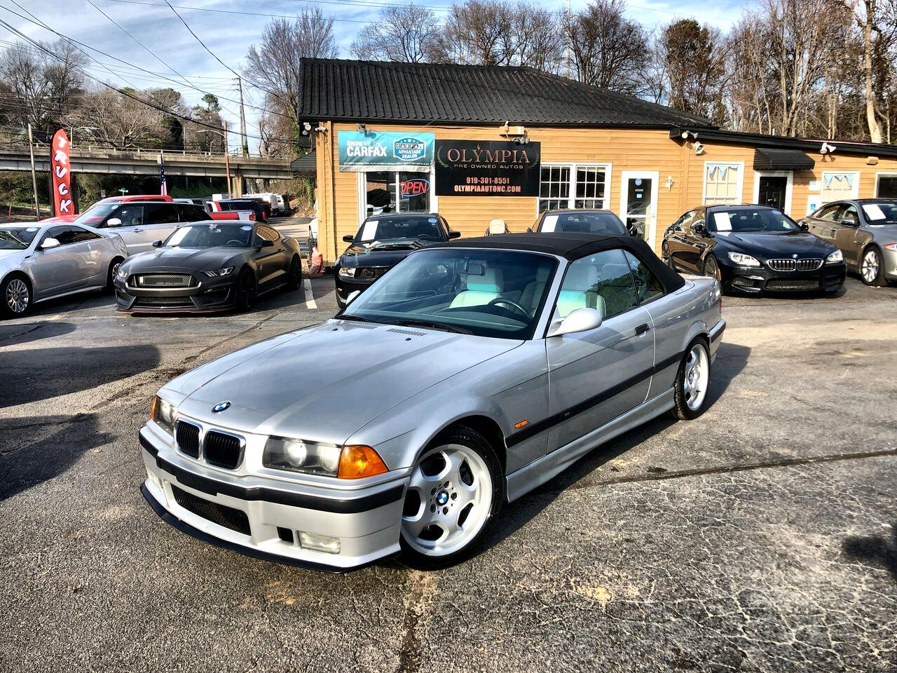 BMW 3 Series M3 2dr Convertible Manual 1999
