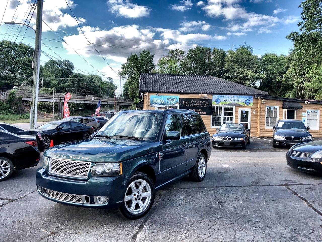Land Rover Range Rover 4WD 4dr SC Autobiography 2012