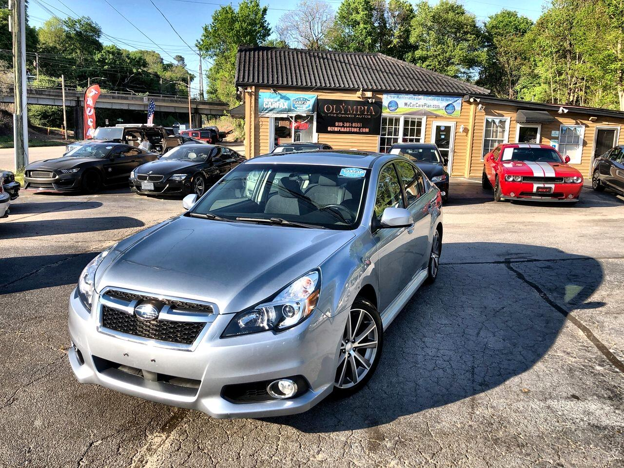 Subaru Legacy 4dr Sdn 2.5i Premium 2013
