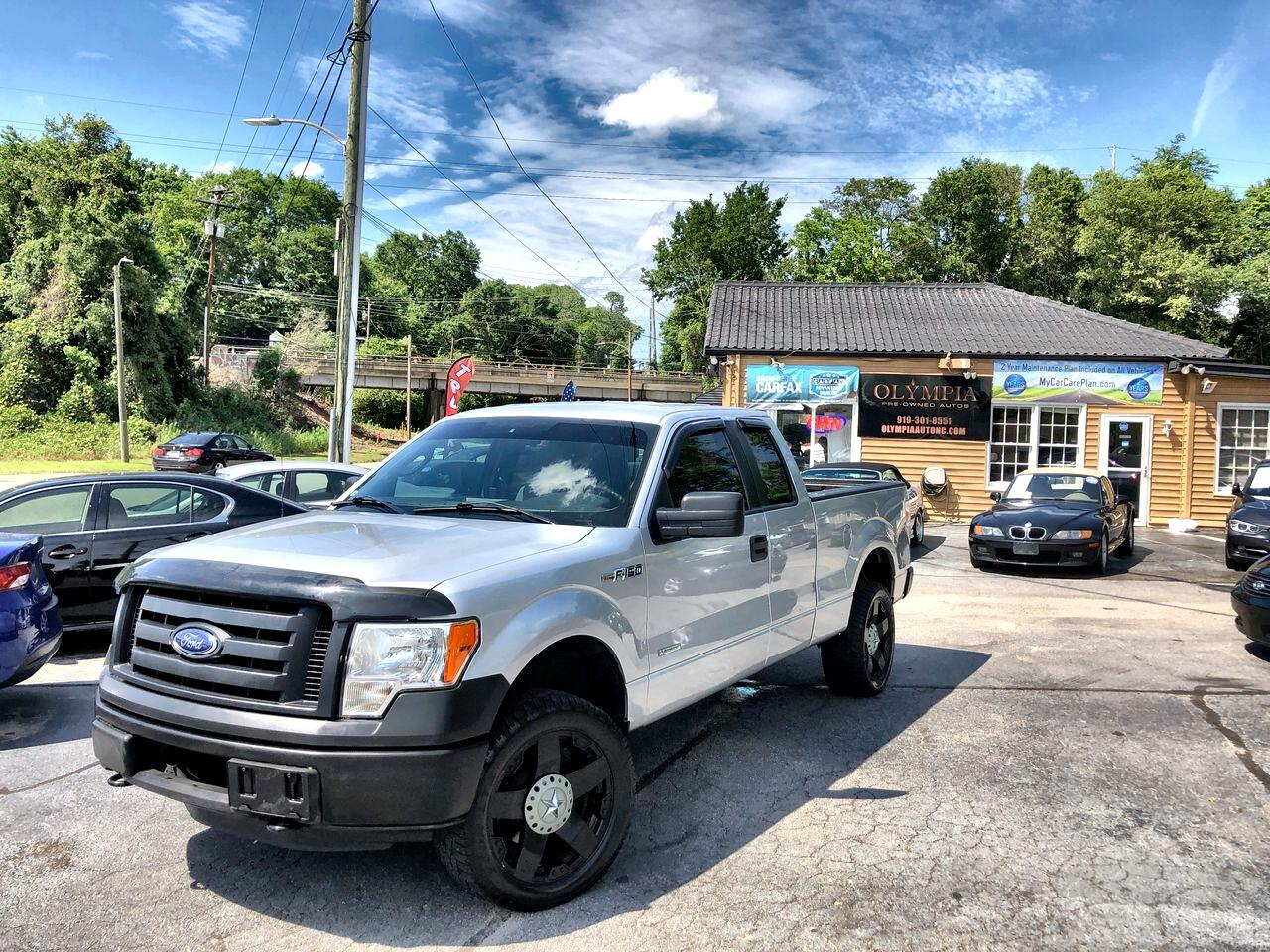 "Ford F-150 4WD SuperCab 133"" FX4 2012"
