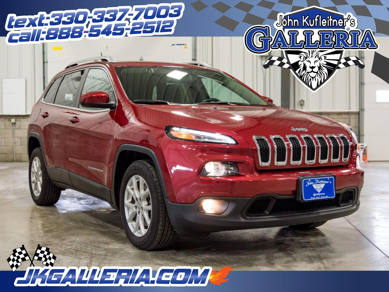 2016 Jeep Cherokee FWD 4dr Latitude