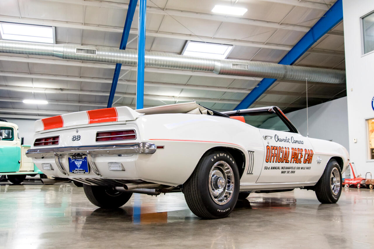 1969 Chevrolet Camaro SS Official Pace Car