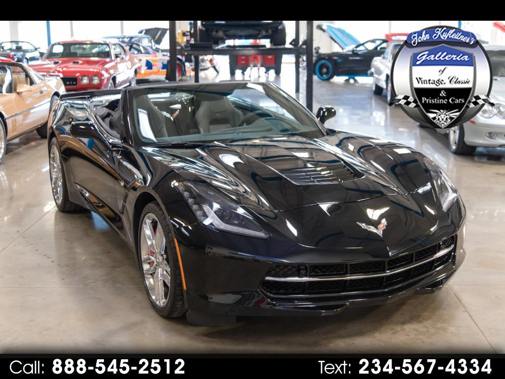 2016 Chevrolet Corvette 2dr Stingray Z51 Conv w/2LT